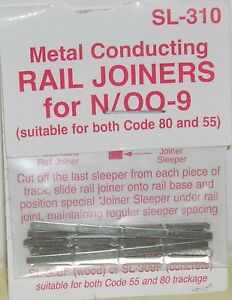 Peco-N-SL-310-Rail-Joiners-Metal-NEW-N-Gauge