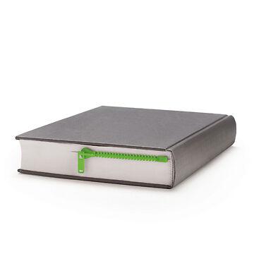 Peleg Design Book/Diary/Notebook ZipMark Plastic Zipper Bookmark - Green in Books, Accessories, Bookmarks | eBay