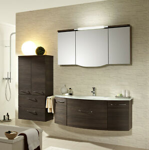 pelipal badm bel huevo 11 spiegelschrank glas waschtisch 130 cm mokka struktur ebay. Black Bedroom Furniture Sets. Home Design Ideas