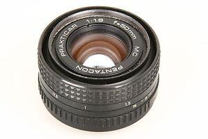 Pentacon-1-8-50mm-MC-Prakticar-mit-Praktica-Electronic-Bajonett-2612882