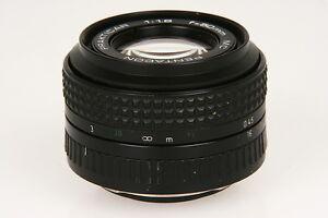 Pentacon-Prakticar-1-8-50mm-MC-Objektiv-fuer-Praktica-Electronic-Bajonett