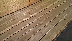 Perlinato abete mm 20 tavole legno incastro maschio femmina ebay - Tavole abete prezzo al metro cubo ...