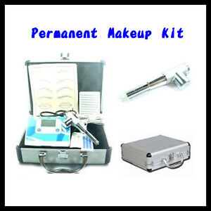 Permanent-Makeup-LCD-Power-French-Style-Machine-Kit-Hot