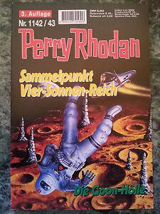 Perry Rhodan - Sammelpunkt Vier-Sonnen-Reich / Die Goon-Hölle - 1142 1143 - NEU - Wuppertal, Deutschland - Perry Rhodan - Sammelpunkt Vier-Sonnen-Reich / Die Goon-Hölle - 1142 1143 - NEU - Wuppertal, Deutschland