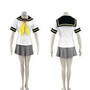 Persona 4 Women's Summer Uniform Costume Cosplay Dress New ...