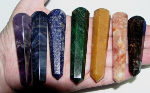 ♥ Personal Chakra Set & Pouch ♥ Crystal Healing Stones ♥ REIKI ♥ Polished ♥ in Everything Else, Metaphysical, Crystal Healing | eBay