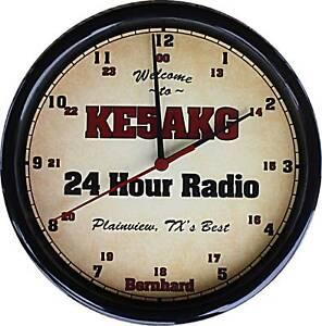 Personalized Amatuer Ham Radio Call Sign Clock #2