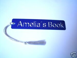 Personalized Custom Engraved Aluminum Bookmarks - great gift for book lovers! in Books, Accessories, Bookmarks | eBay