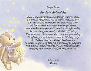 For my baby girl