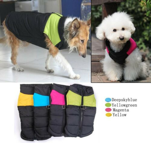 Pet clothes Wholesale Small Medium Large Big Dog Winter Vests Dog Coats 4 Colors in Pet Supplies, Dog Supplies, Apparel | eBay