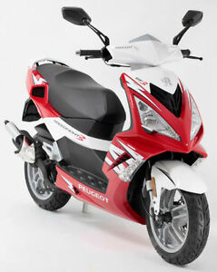 about Peugeot SPEEDFIGHT 3 50cc Sports Scooter Moped Brand New 2014