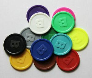 Pfandmarken-Wertmarken-Standard-Praegung-B-mit-beidseitiger-Praegung