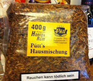 Pfeifen-Tabak-Puett-s-Hausmarke-400-gr-Rum-mit-Honig-Topp-Duft-Preisknaller
