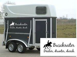 pferdeanh nger aufkleber buschreiter pferd wanderreiten. Black Bedroom Furniture Sets. Home Design Ideas