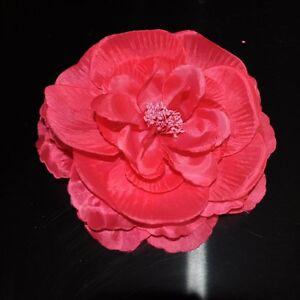 pfingstrose rosa pink blume rose brosche ansteckblume fascinator haarschmuck neu ebay. Black Bedroom Furniture Sets. Home Design Ideas
