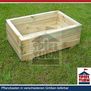 pflanzkasten 80 cm pflanztrog pflanzk bel aus holz garten. Black Bedroom Furniture Sets. Home Design Ideas