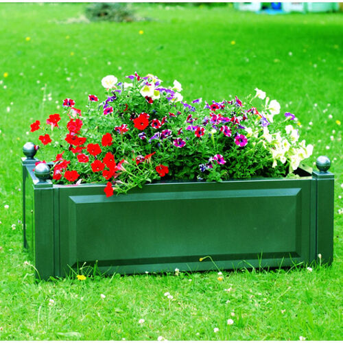 Pflanzkasten rechteckig Blumenkübel Kübelpflanzung Blumenkasten Gartenzubehör