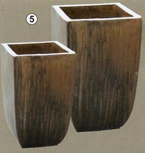pflanzk bel blumenk bel braun glasiert blumentopf. Black Bedroom Furniture Sets. Home Design Ideas
