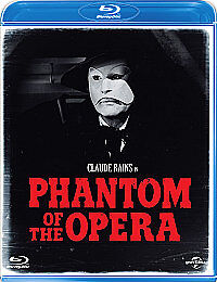 The Phantom Of The Opera (Blu-ray, 2012)