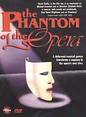 The Phantom of the Opera (DVD, 2001)