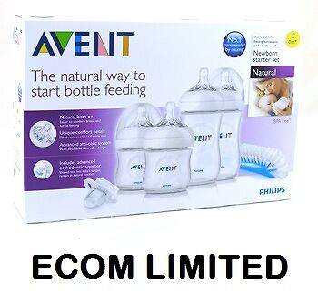 Philips Avent SCD290/00 Natural Newborn Starter Set in Baby, Feeding, Baby Bottles | eBay