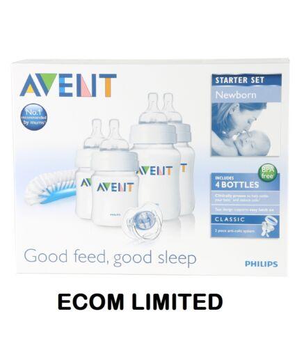 Philips Avent Starter Set Newborn Bottle Kit PBA FREE