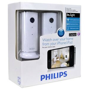 Philips In.Sight Wireless Home Monitor & Surveillance Camera