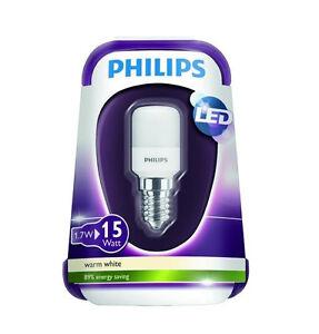 philips led k hlschrank leuchtmittel lampe birne licht 1 7 w 15 w e14 t25 ebay. Black Bedroom Furniture Sets. Home Design Ideas