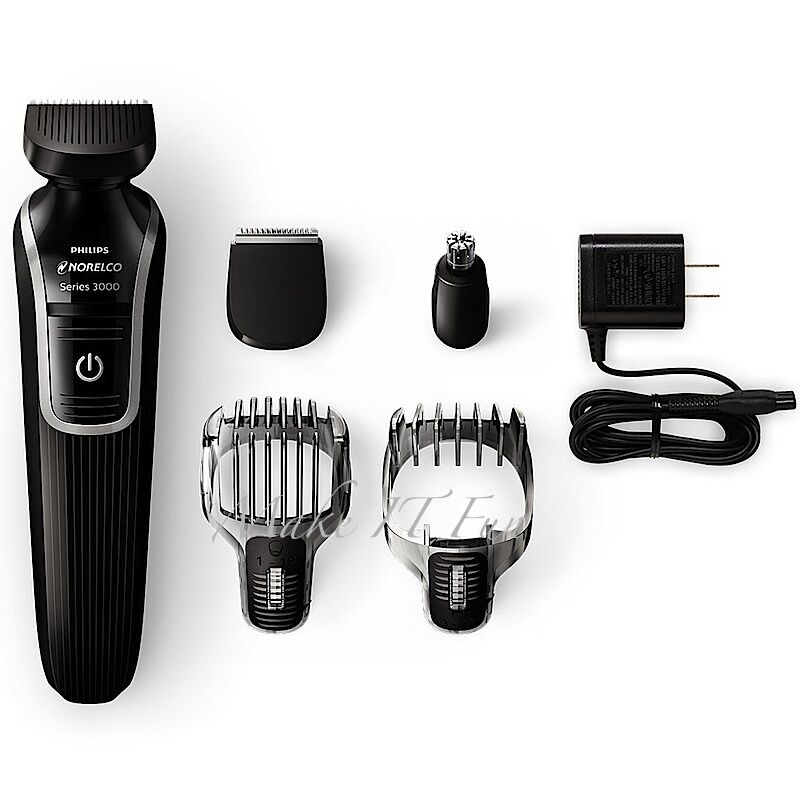 philips norelco beard trimmer cordless rechargeable electric shave ear groomi. Black Bedroom Furniture Sets. Home Design Ideas