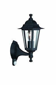 philips sensor wandleuchte bewegungsmelder wandlampe aussenleuchte schwarz ebay. Black Bedroom Furniture Sets. Home Design Ideas