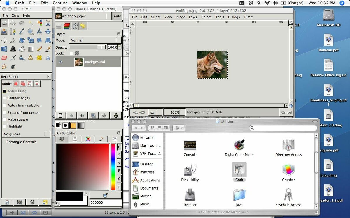 Photo Editing Software for iMac Mac OSX Snow Leopard Lion