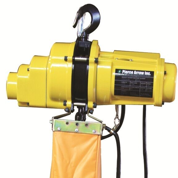 Pierce 1 ton mini electric chain hoist 20 new for 1 4 ton chain motor