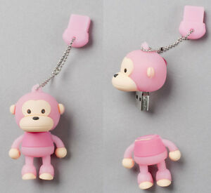 "Pink ""Monkey"" USB Flash Memory Drive(Stick/Pen/Thumb) 4GB in Computers/Tablets & Networking, Drives, Storage & Blank Media, USB Flash Drives 