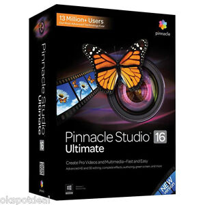 Pinnacle-Studio-16-Ultimate-Video-Editing-Software-for-Windows-Brand-NEW