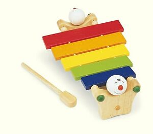 pintoy happy xylophon holzspielzeug drum holz f r kinder musikinstrument ebay. Black Bedroom Furniture Sets. Home Design Ideas