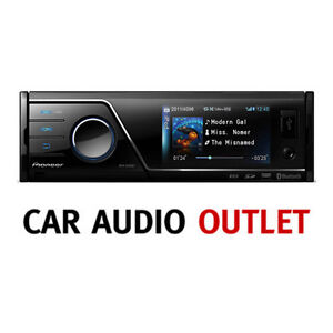 pioneer mvh 8300bt car stereo bluetooth handsfree media receiver sd aux in usb ebay. Black Bedroom Furniture Sets. Home Design Ideas