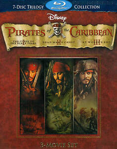 Pirates of the Caribbean Trilogy (Blu-ra...