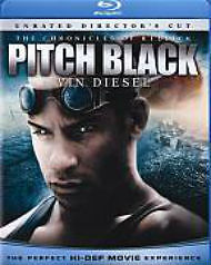 Pitch Black (Blu-ray Disc, 2009, Rated &...