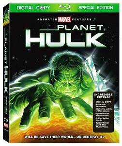 Planet Hulk (Blu-ray Disc, 2010, Special...