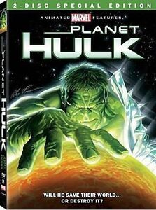 Planet Hulk (DVD, 2010, 2-Disc Set, Cana...