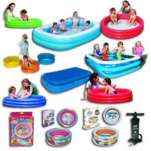 planschbecken swimmingpool kinder baby familien pool schwimmbecken pumpe. Black Bedroom Furniture Sets. Home Design Ideas