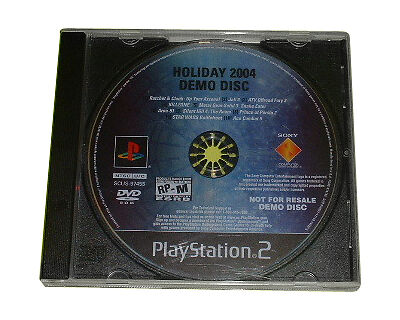 PlayStation Underground Holiday 2004 Demo Disc RP M Sony
