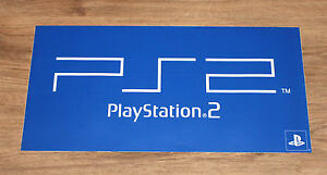 Playstation 2 PS2 promo Game Store XL Sticker 60x30cm - Deutschland - Playstation 2 PS2 promo Game Store XL Sticker 60x30cm - Deutschland