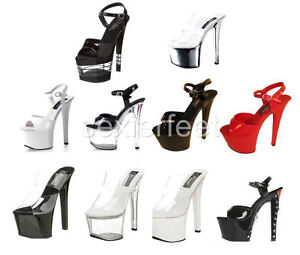 Pleaser Sexy Stripper Platform Sandals Sky-302 Sky-309