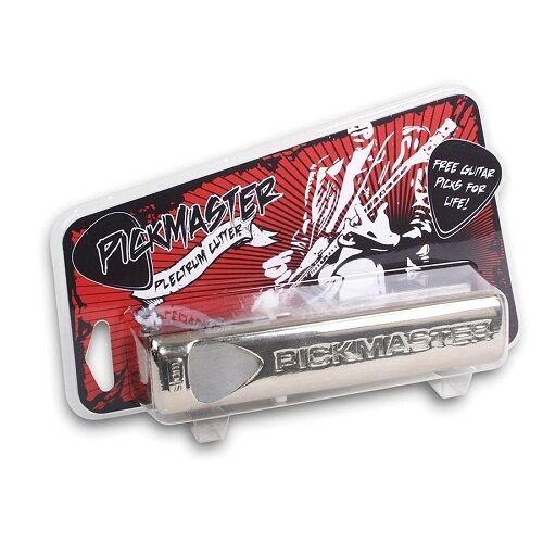Plectrum Cutter Pickmaster - Make your own Guitar plectrums picks Rockstar New