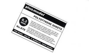 Plus-Model-Plastik-Platten-0-2-mm-0-2mm-110-190mm-2-Stueck-NEU-OVP-Tipp