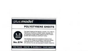 Plus-Model-Plastik-Platten-1-2-mm-1-2mm-110-190mm-2-Stueck-NEU-OVP-Tipp