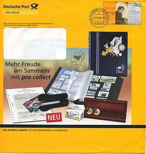 Plusbrief mit Marke 145c Hannah Arendt mit Stempel Postphilatelie Weiden - Deutschland - Plusbrief mit Marke 145c Hannah Arendt mit Stempel Postphilatelie Weiden - Deutschland