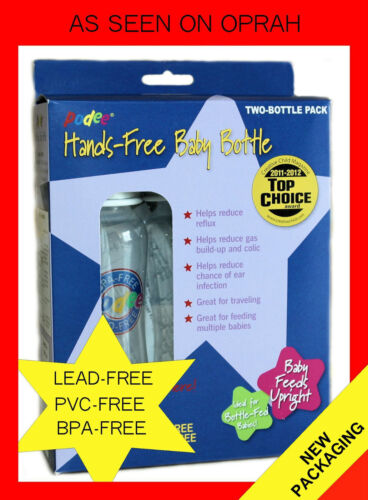 Podee Twin Pack Hands Free Baby Bottle ~ Bottle System in Baby, Feeding, Baby Bottles | eBay