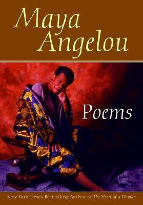 Poems Maya Angelou by Maya Angelou 1997, Paperback, Large Type